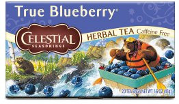 Celestial Seasonings Herbal Tea, True Blueberry, 20 Count Box