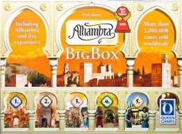 Alhambra : The Big Box Edition - a Family Game from Queen Games
