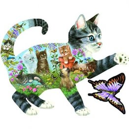 Kittens Delight 900 Piece Shaped Jig Saw Puzzle from Giordano Studios