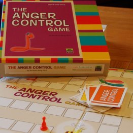 The Anger Control Game - A Psychological Board Game