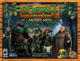 Sheriff of Nottingham Merry Men Game Expansion Pack - from Arcane Wonders