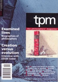 TPM The Philosopher's Magazine. Thought Provoking Thoughts. #56. 2012