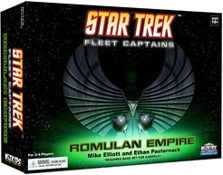 Star Trek Star Fleet Captains Romulan Expansion - A Game Expansion from WizKids Games