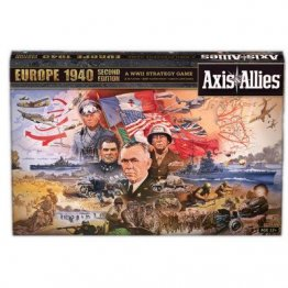 Axis and Allies Europe 1940 2nd Edition Board Game