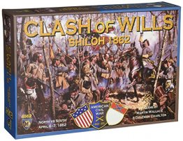 Clash of Wills Shiloh 1862 Board Game - from Mayfair Games