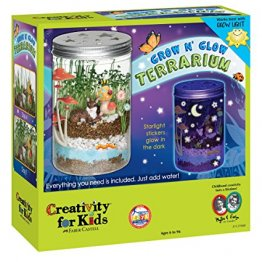 Grow 'n Glow Terrarium - Science Kit for Kids - from Creativity for Kids