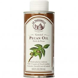 La Tourangelle Roasted Pecan Oil 8.45 Fl. Oz., All-Natural, Artisanal, Great for Salads, Grilled Fish and Meat, or Pasta