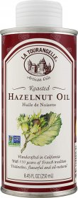 La Tourangelle Roasted Hazelnut Oil 8.45 Fl. Oz., All-Natural, Artisanal, Great for Salads, Fruit, Fish, Marinades or Vegetables