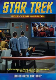 Star Trek : Five Year Mission Board Game - from Mayfair Games