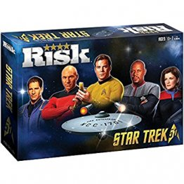 RISK Star Trek 50th Anniversary Edition Board Game - from USAopoly