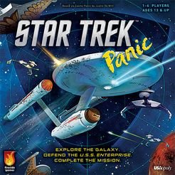 Star Trek Panic Board Game - from USAopoly Games