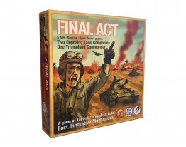 Final Act Strategy Board Game - Tank War - from Tyto Games
