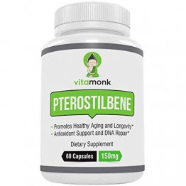 Pure Pterostilbene by Vitamonk 60ct 150mg