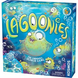 Lagoonies (The Undersea Search Game) - from Thames & Kosmos