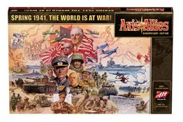 Axis & Allies Anniversary Edition Strategy Board Game - from Avalon Hill Games