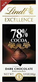 Lindt Excellence Bar, 78% Cocoa Dark Chocolate, 3.5 Ounce