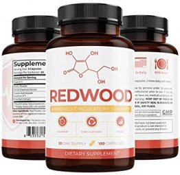 Redwood by Umzu 100% Natural Nitric Oxide (30-Day Supply) - May Improve Blood Flow and Lower Blood Pressure