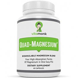 Quad-Magnesium™ All-In-One Magnesium Supplement for Sleep, Energy, Mood, and Health