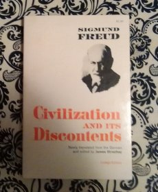 Civilization and its Discontents by Sigmund Freud - Paperback RARE 1st American Edition 1962