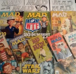 MAD Magazine - One Year (6 Issues) Magazine Subscription with Awesome Bonuses
