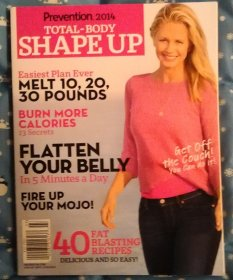 Prevention Total Body Shape Up - Paperback