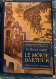 Le Morte D'Arthur by Sir Thomas Mallory - Paperback USED