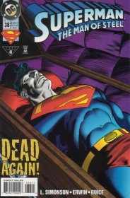 Superman The Man of Steel 38 Dead Again! DC Comics