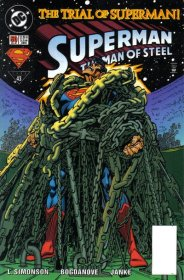 Superman The Man of Steel 50 Trial of the Superman DC Comics
