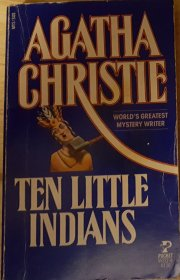 Ten Little Indians by Agatha Christie RARE Classic Paperback VINTAGE 1986