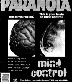 Paranoia The Conspiracy Reader - Winter 1999 Issue 19 - Magazine Back Issues
