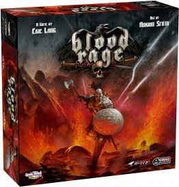 Blood Rage Viking Board Game