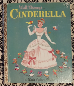 Walt Disney's Cinderella - A Little Golden Book VINTAGE 1950