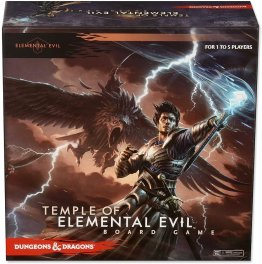 Dungeons & Dragons Temple of Elemental Evil Board Game