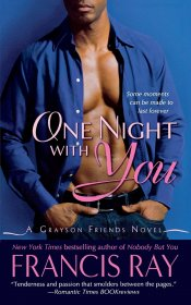 One Night With You by Francis Ray - Paperback USED Romance