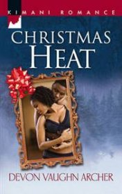 Christmas Heat by Devon Vaughn Archer - Paperback USED Romance