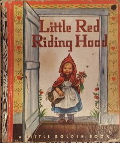 Little Red Riding Hood - Little Golden Book VINTAGE circa 1949