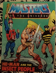 He-Man and the Insect People : Masters of the Universe Mini Comic VINTAGE 1983