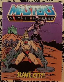 Masters of the Universe : Slave City - Mini Comic VINTAGE 1983