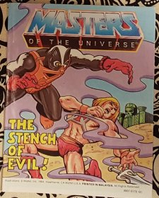 Masters of the Universe The Stench of Evil! Mini Comic VINTAGE 1984