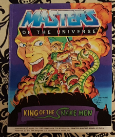 Masters of the Universe King of the Snake Men - Mini Comic VINTAGE 1985