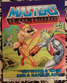 Masters of the Universe : Between a Rock and a Hard Place - VINTAGE Mini Comic 1985