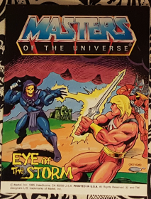 Masters of the Universe Eye of the Storm - Mini Comic VINTAGE1985