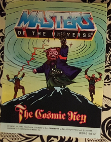 Masters of the Universe The Cosmic Key - Mini Comic VINTAGE 1987