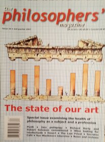 The Philosophers' Magazine Issue 39 Fall 2007 - Magazine Back Issues
