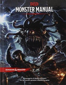 Monster Manual (D&D Core Rulebook) Hardcover