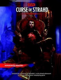 Curse of Strahd: A Dungeons & Dragons Sourcebook (D&D Supplement) Hardcover
