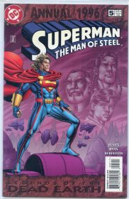 Superman The Man of Steel Annual 1996 No. 5 Legends of the Dead Earth