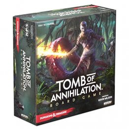 Dungeons & Dragons Tomb of Annihilation Adventure Strategy Board Game