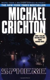 Sphere by Michael Crichton - Paperback USED