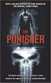 The Punisher : The Official Novelization by D.A. Stern - Paperback USED